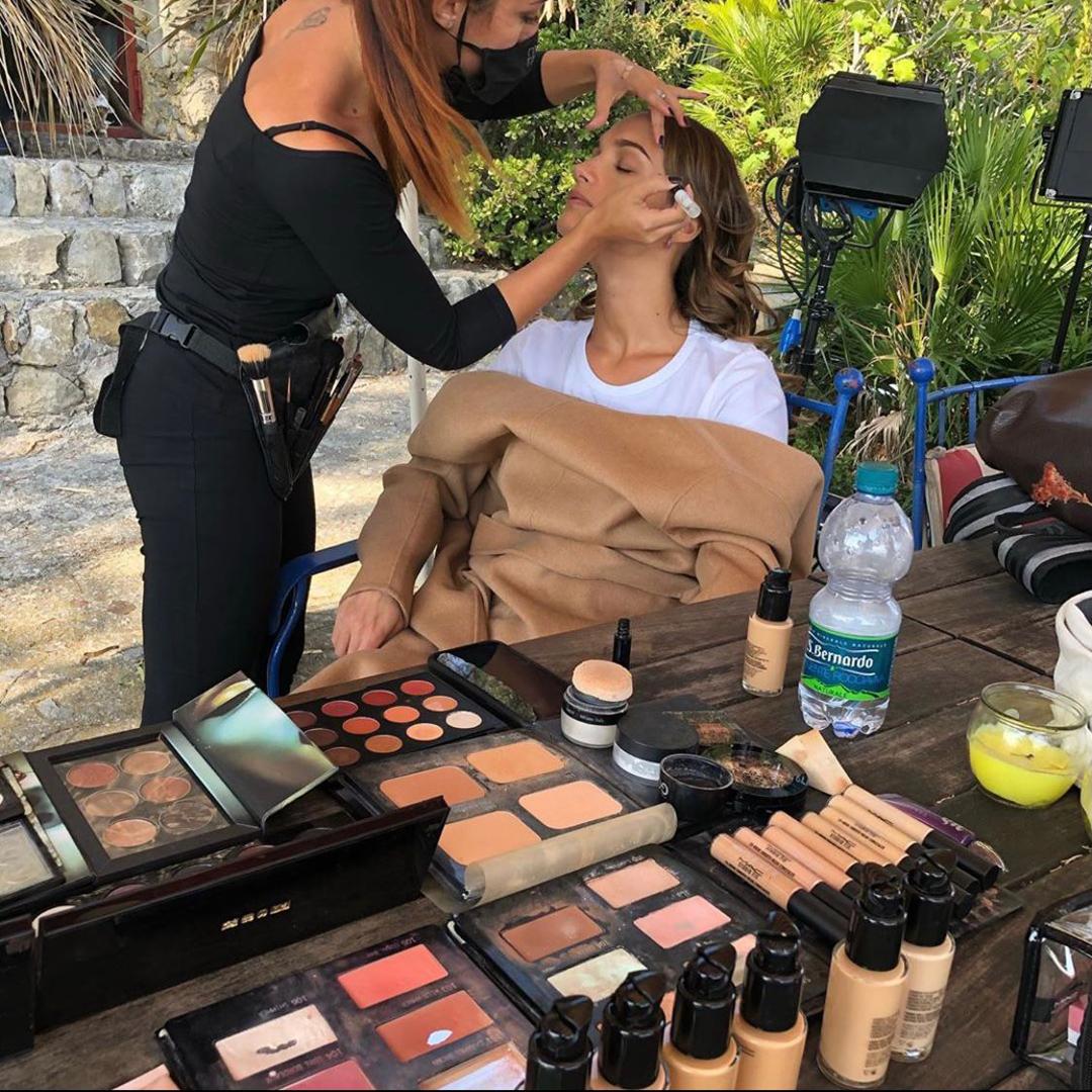 scuola estetista make-up trucco shotting