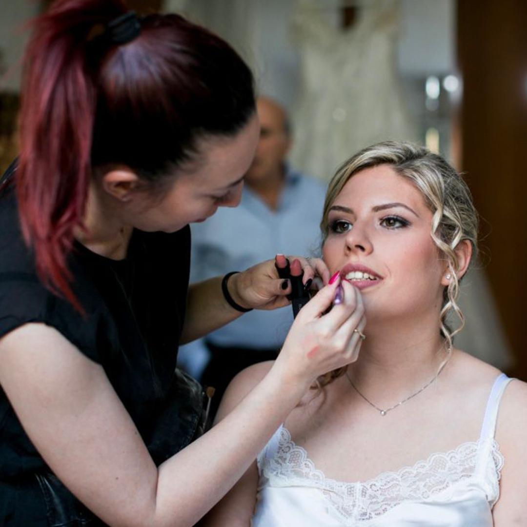 scuola estetista make-up trucco wedding