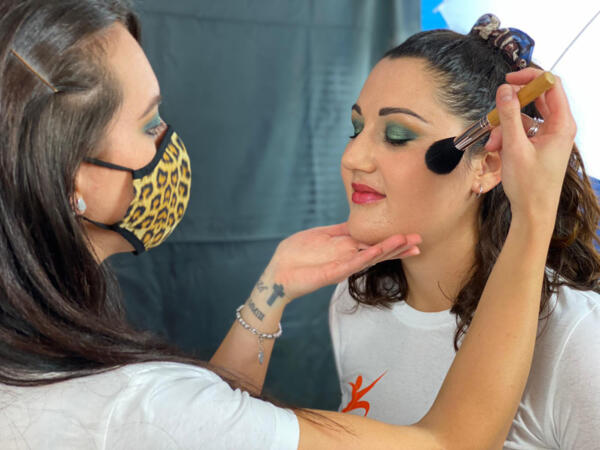 esercizi di make-up